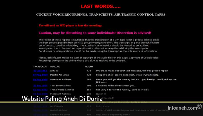Website Paling Aneh Di Dunia