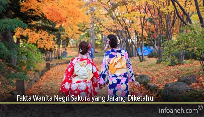 Fakta Wanita Negri Sakura yang Jarang Diketahui