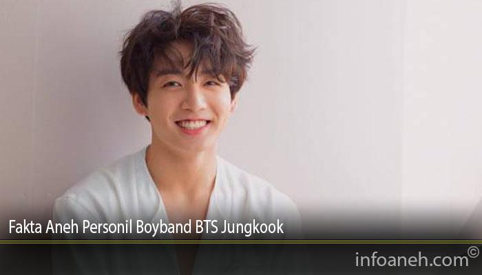 Fakta Aneh Personil Boyband BTS Jungkook
